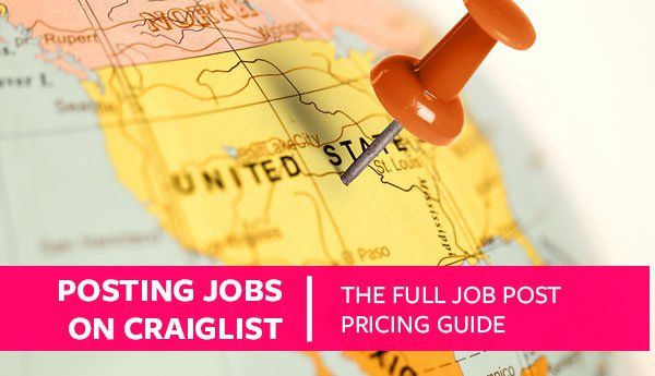Posting Jobs on Craigslist (The Full Job Post Pricing ...