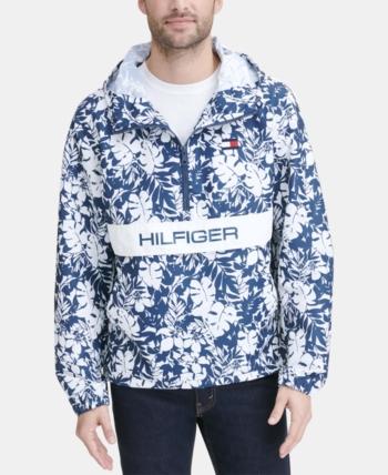 3d792c7ac Tommy Hilfiger Men Taslan Popover Jacket in 2019 | Products | Tommy ...