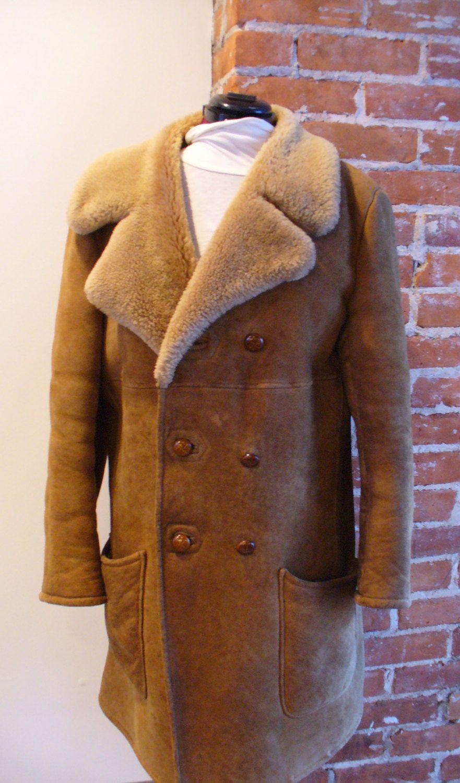 Vintage Shearling Sheepskin Jacket by TheOldBagOnline on Etsy