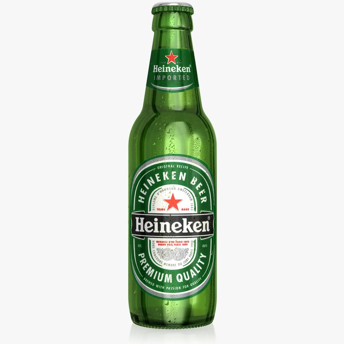 Heineken Bottle 3d Model Ad Heineken Bottle Model Heineken