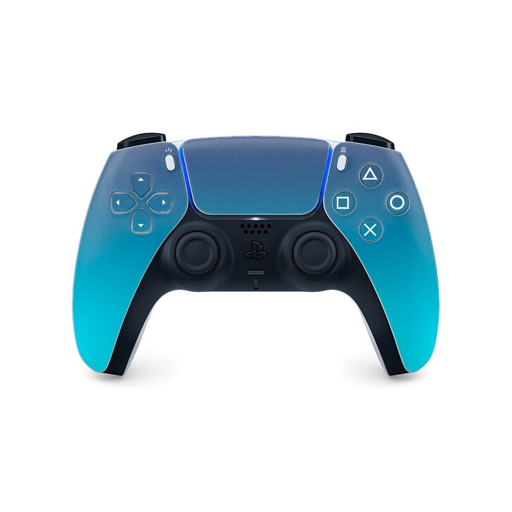 Cyan Sky Ps5 Controller Skin Control New Technology Gadgets Playstation