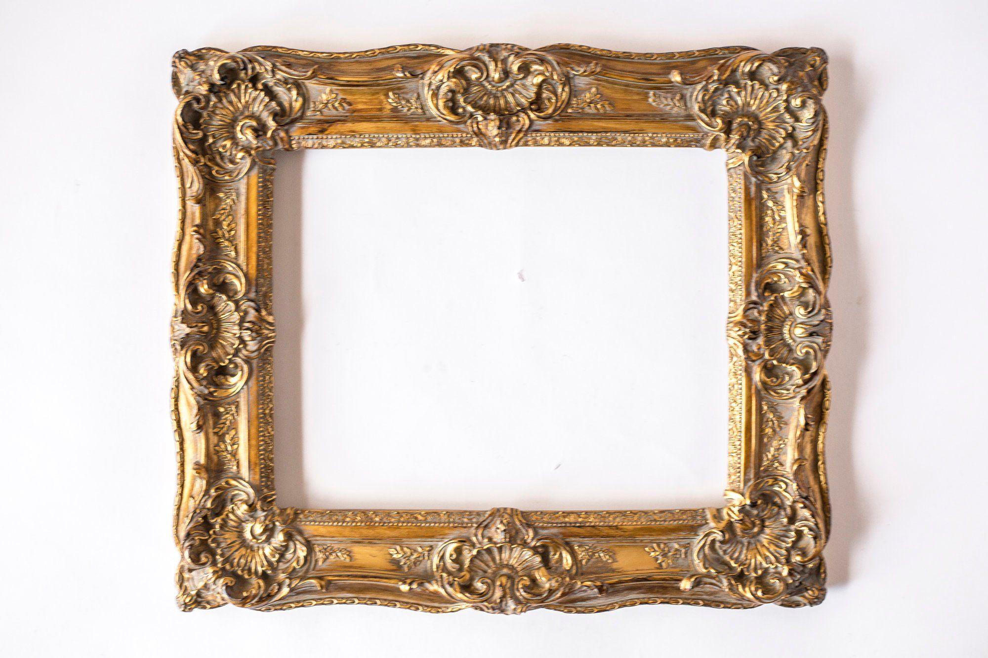 Ornate Gold Frame Cast Resin Frame Vintage Gold Frame Etsy Frame Gold Frame Vintage Frames