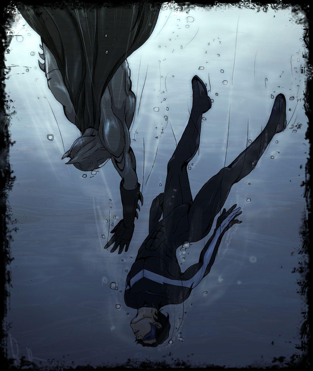 Nightwing, Gotham Villains, Batman