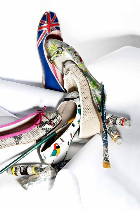 women's shoes/styling for attica store magazine