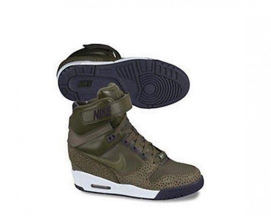 My spring heels!  Air Revolution Sky Hi - New Wedges By Nike