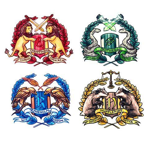 Ravenclaw Fantastic Beasts Harry Potter Hogwarts House bows Hufflepuff Marauders Map Gryffindor Syltherin |