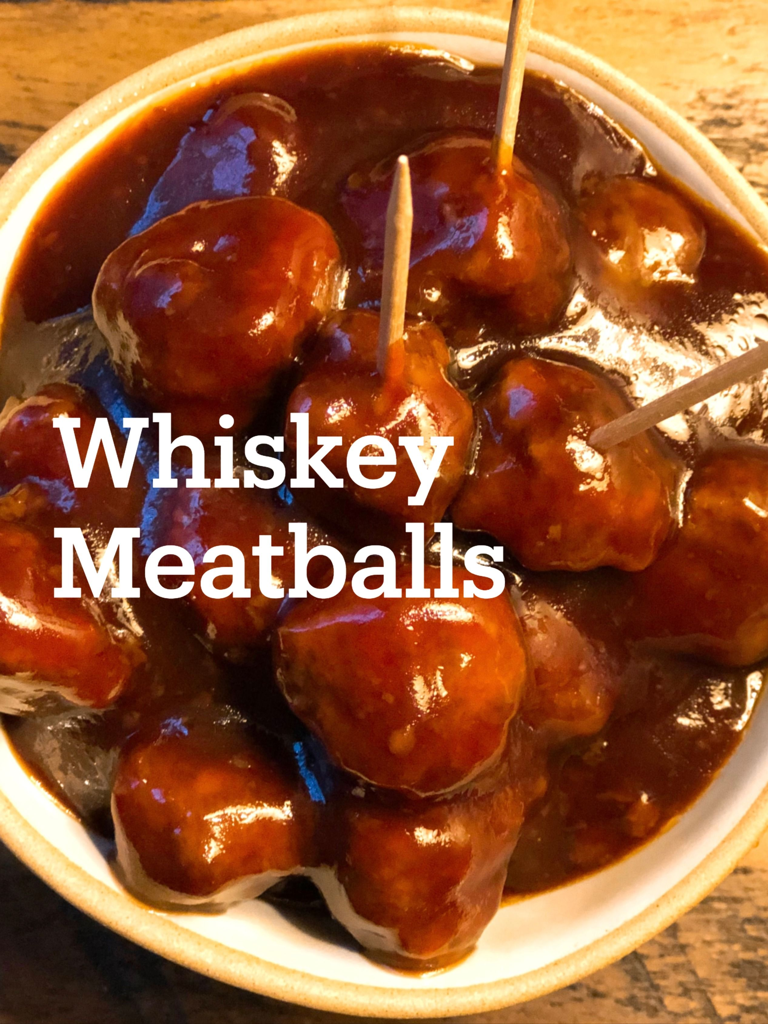 Photo of Easy Whiskey Meatballs