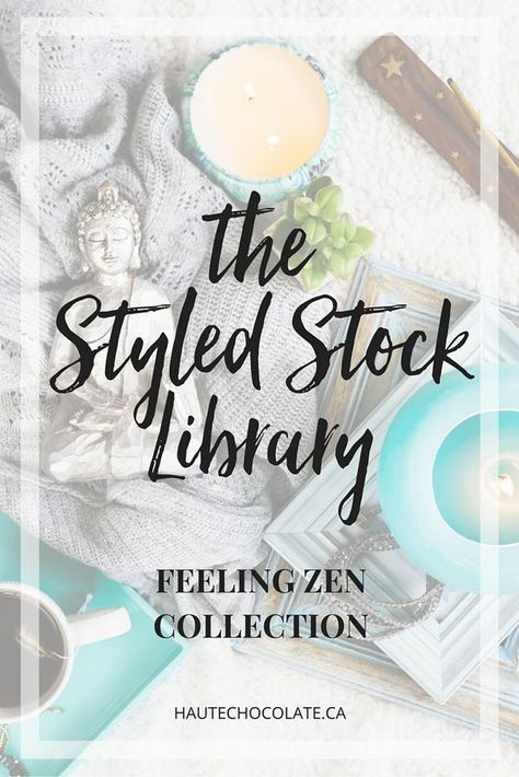 Gorgeous styled stock photos from Haute Chocolate! Check out the Feeling Zen Collection and her many other collections in every feminine color scheme you need. Perfect for blog posts, social media posts, digital products and more! Click here to see more... [affiliate link]