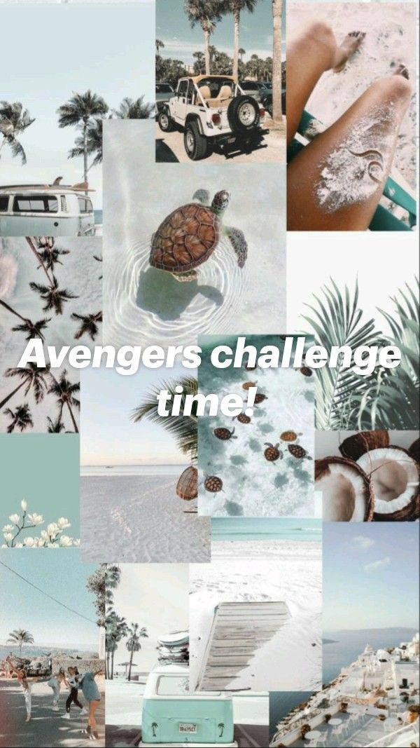 Avengers challenge time!