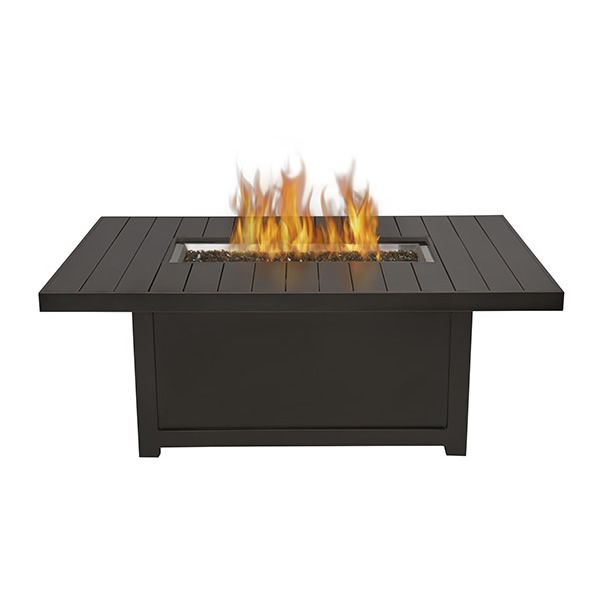 Napoleon St. Tropez Rectangle Patioflame Fire Pit Table ...