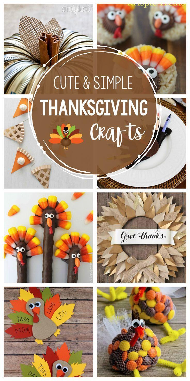 Photo of Fun & Simple Thanksgiving Crafts, um dies zu machen