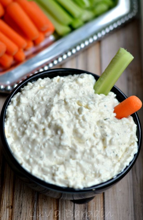 This Tasty Ranch Cottage Cheese Dip Will Quickly Become A Favorite In Your  House. With