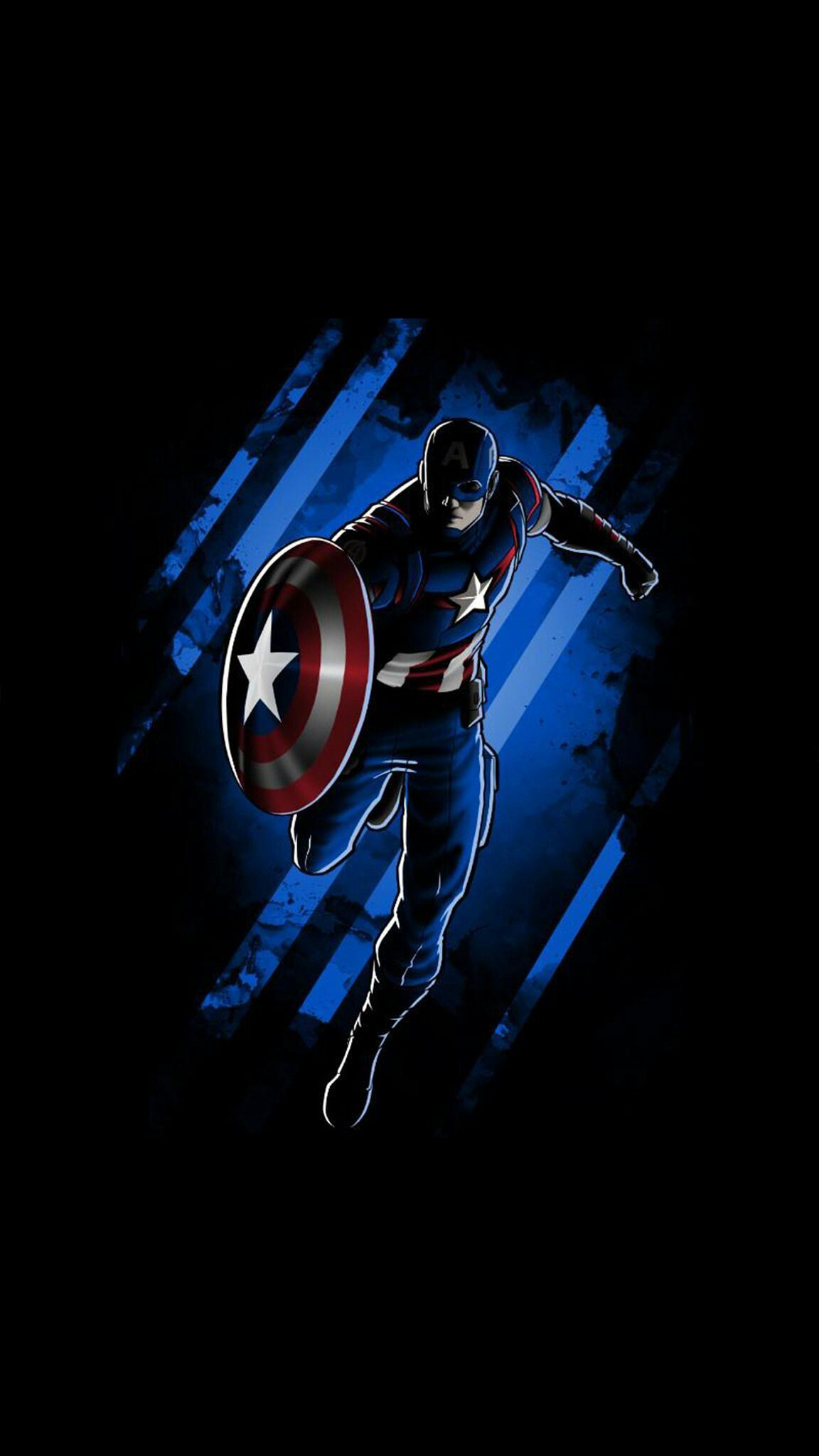 Captain America Dark Minimal Background Iphone Wallpaper Captain America Wallpaper Joker Iphone Wallpaper Marvel Wallpaper
