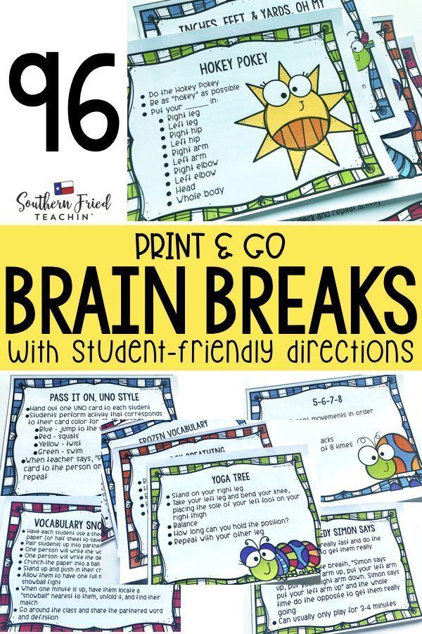 92dc8d7335fb07d984b19451930e603a - Kindergarten Brain Break