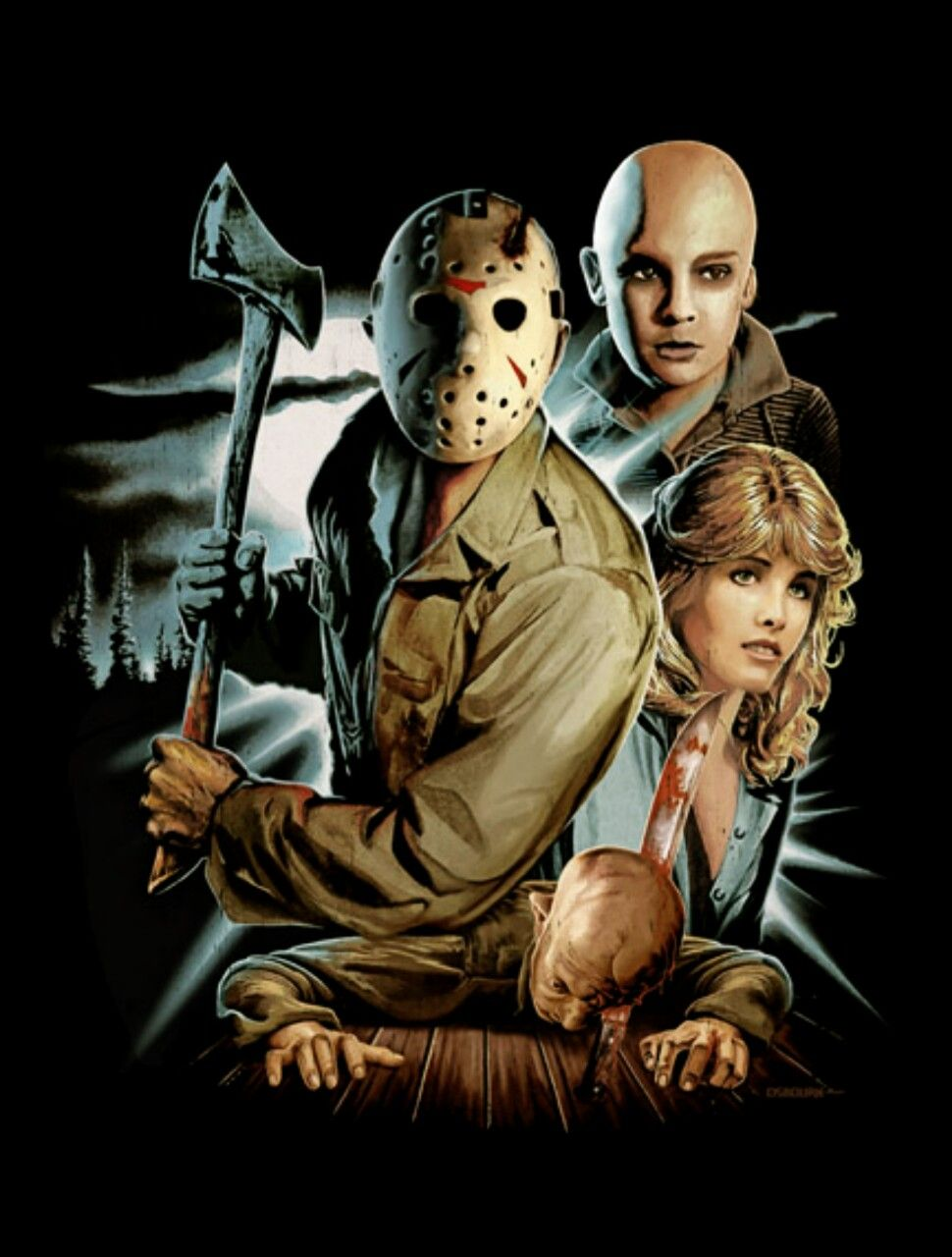 Justin Osbourn Halloween Art 2020 Friday The 13th Part IV: The Final Chapter by Justin Osbourn