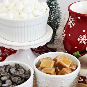 60 Best Hot Chocolate Bar Ideas #hotchocolatebar 60 Best Hot Chocolate Bar Ideas - Prudent Penny Pincher #hotchocolatebar