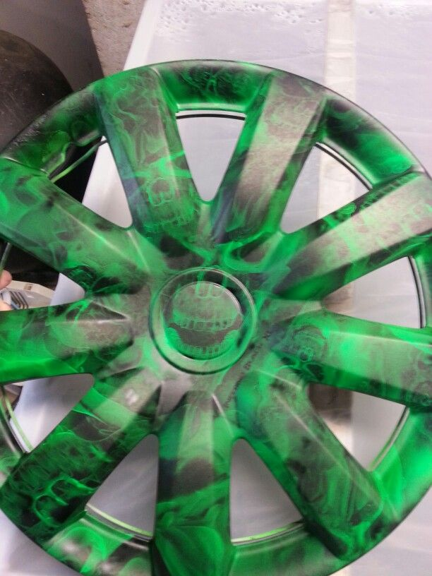 hydro dipped rims by