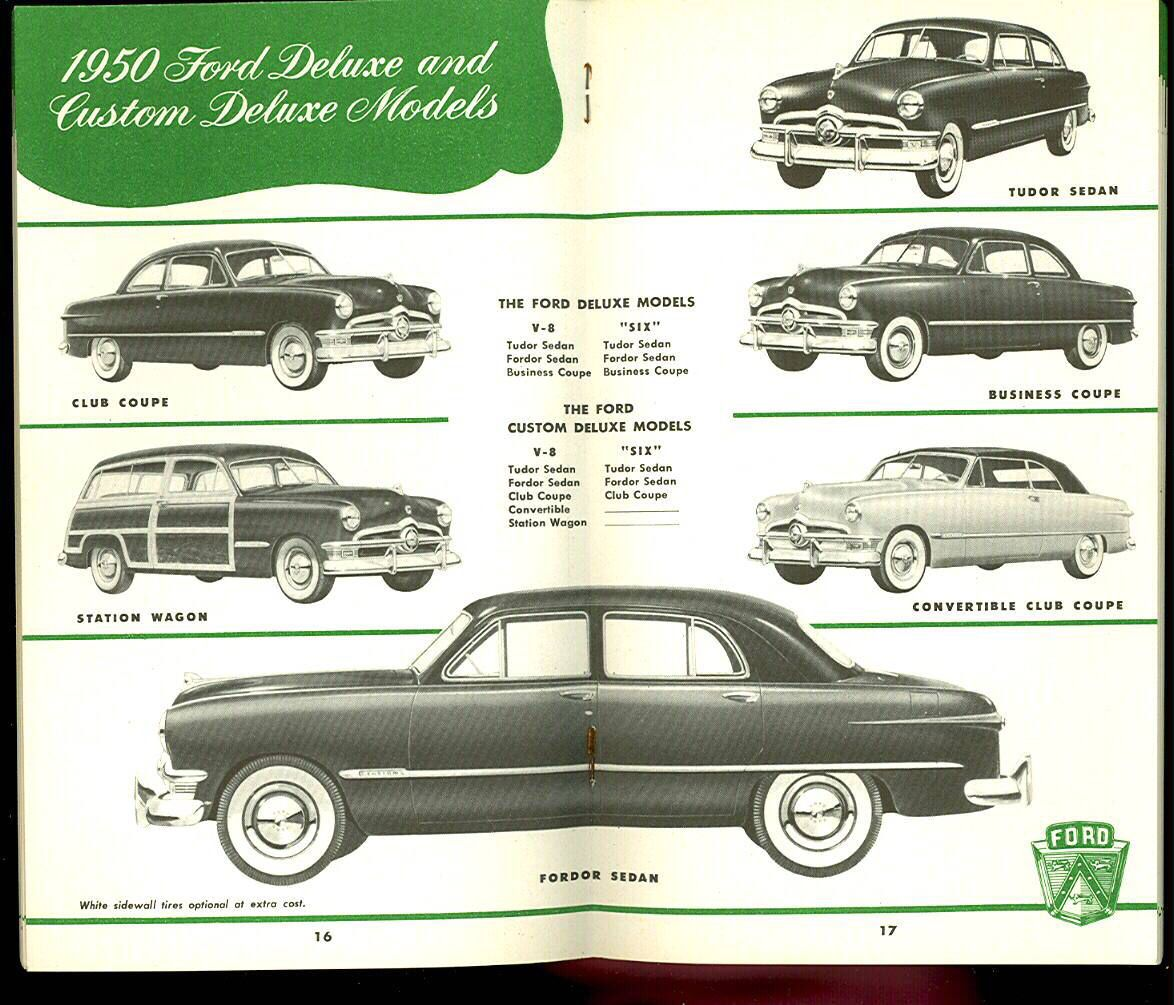 1950 Ford Models With Images Ford Classic Cars Car Ford