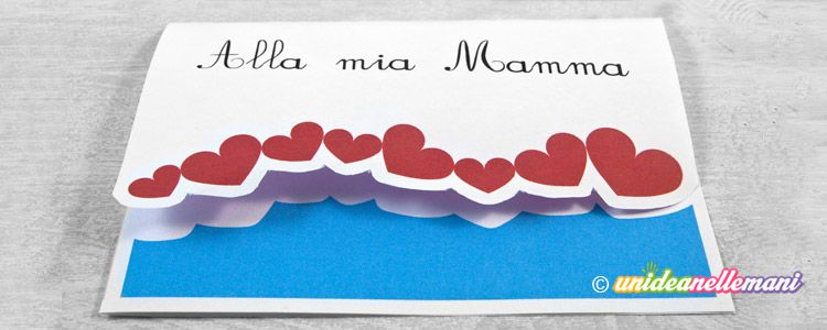 4 Biglietti Festa Della Mamma Da Stampare E Ritagliare Stampabili