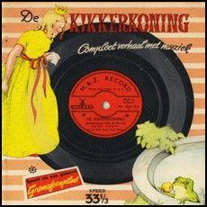 Grammofoonboekje De Kikkerkoning