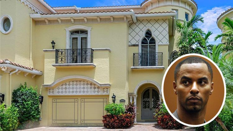 Darren Sharper Is In Prison But His Florida Island Home Is Back