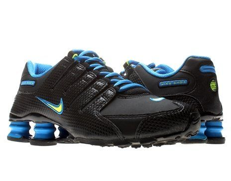 Nike Trainers Shoes Kids Shox Nz Si Plus Black Nike. $89.95