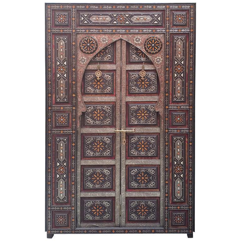 Photo of Chefchaouen Wooden Door