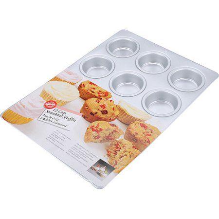 Wilton 12-Cavity Standard Muffin Pan 2105-9310, Multicolor