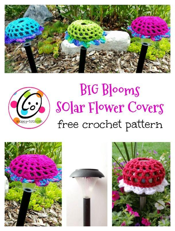 Free Pattern: Big Solar Blooms   Pinterest   Flores