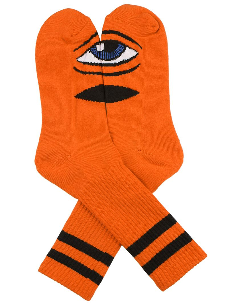 Toy Machine Sect Eye Iii Socks Clothes Such Pinterest Deck Orange