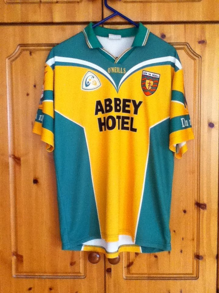24d2aa201 Donegal Gaelic Football Home Jersey 2001 to 2002 Large Adult 22 O Neills GAA