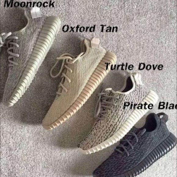 yeezy boost 350 colours