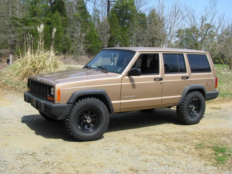 31 Tires On A Stock Xj Jeepforum Com Jeep Xj Jeep Cherokee Xj Jeep Cherokee