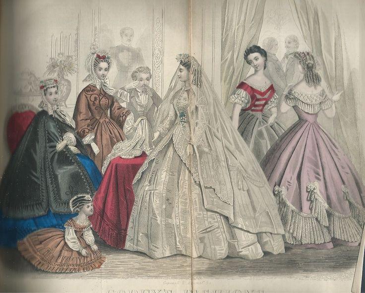 Godeys ladys book 1866