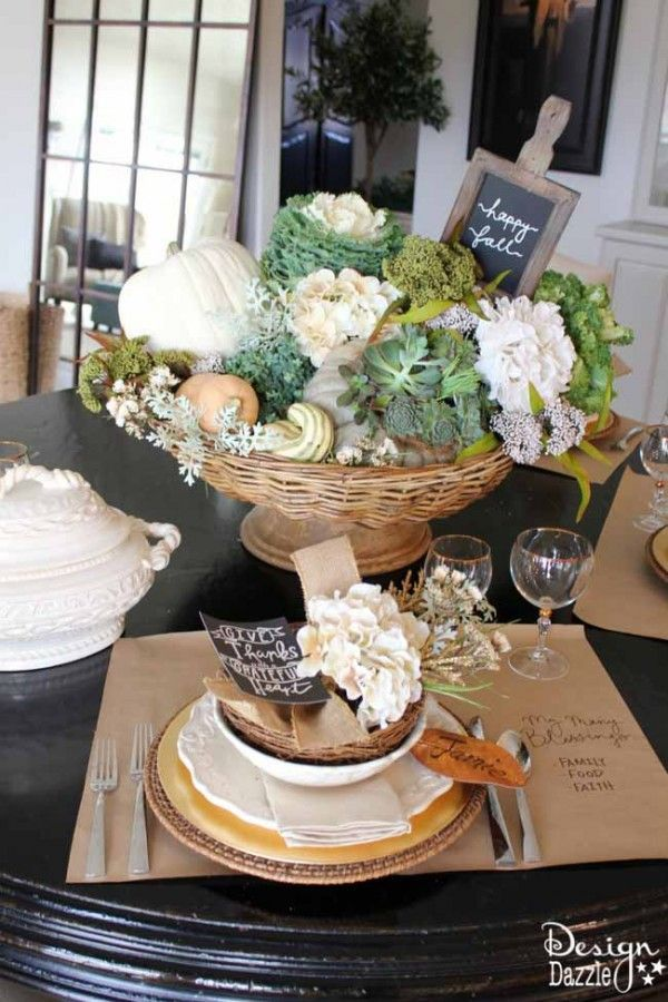The Grateful Table My Thanksgiving Tablescape Finding