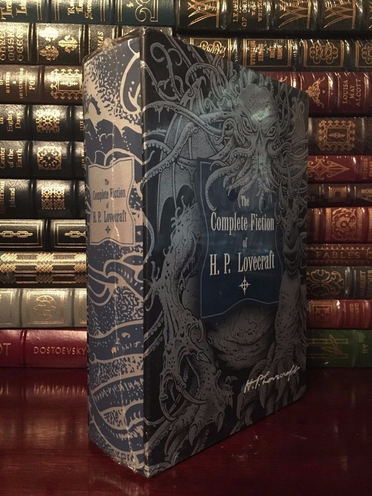 The Complete Fiction Of Hp Lovecraft Cloth Bound Slipcase