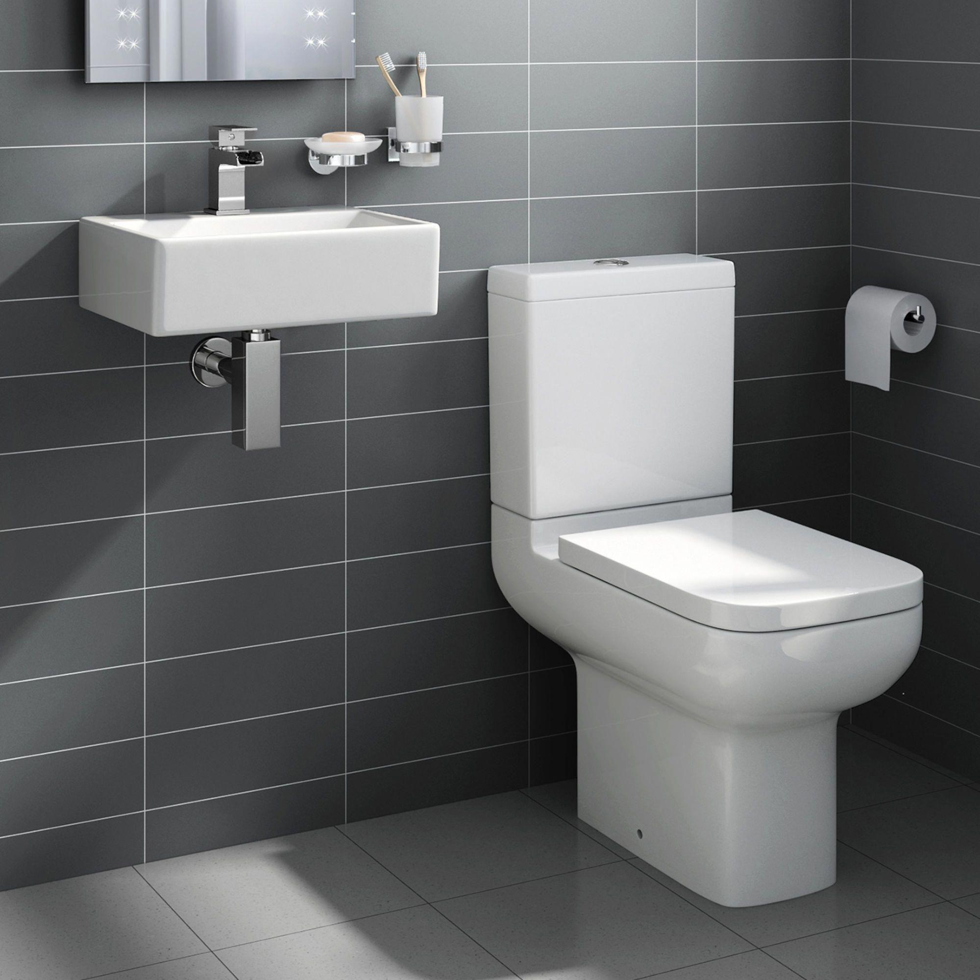 Short Projection Toilet Rita Wall Hung Basin Cloakroom Set Medium Soak Com Toiletsink Diseno De Banos Decoraciones Del Hogar Decoraciones De Casa