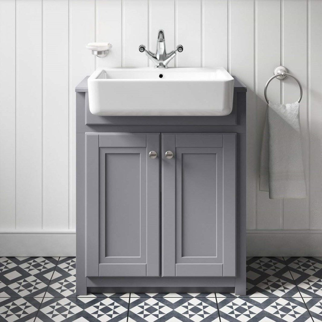 Butler Rose Catherine Traditional Floorstanding Vanity Unit With
