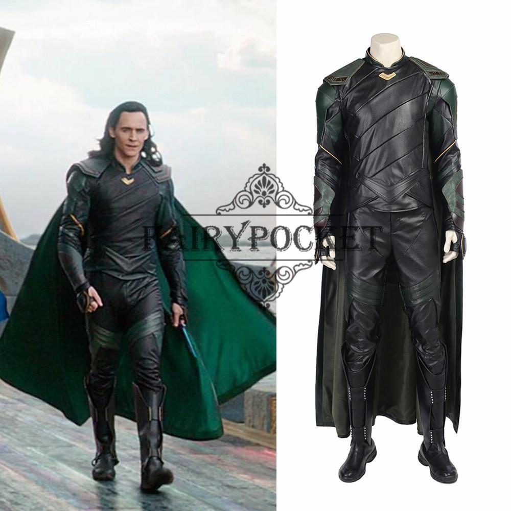 Thor Ragnarok Loki Cosplay Costume Loki Cosplay Loki Costume Cosplay Costumes