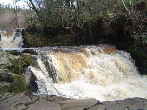Glenbarrow Waterfalls Ireland