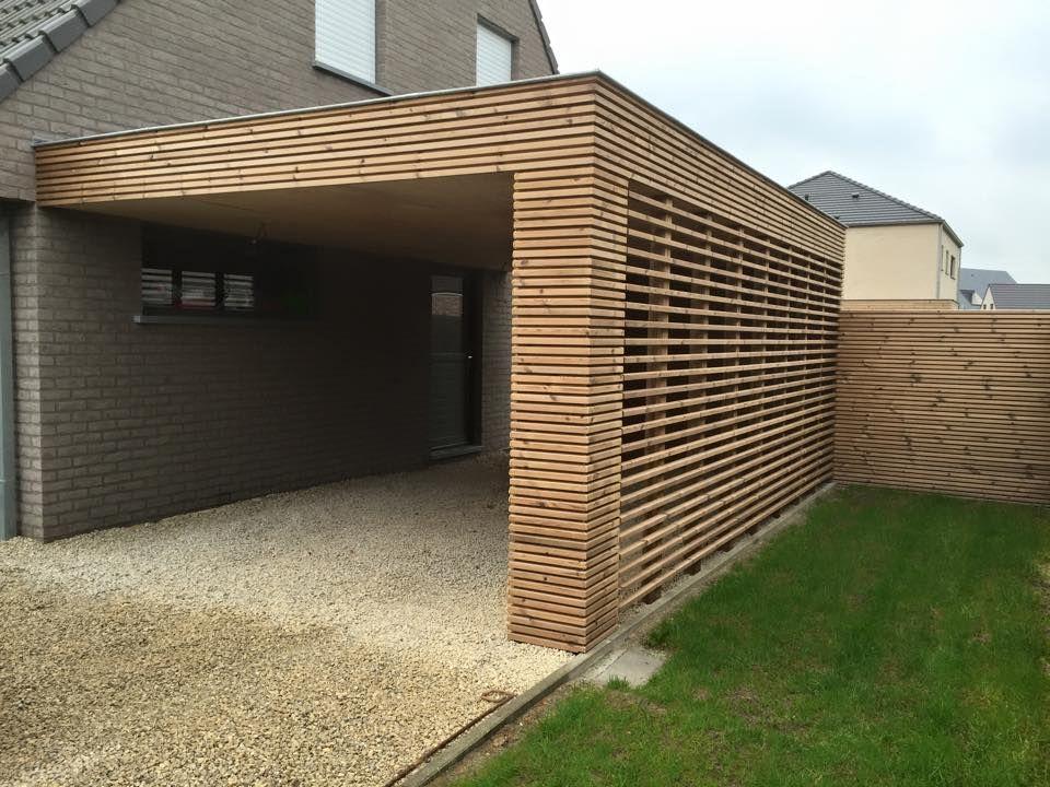 Wout Moreels carport Carport garage, Outdoor decor, Carport