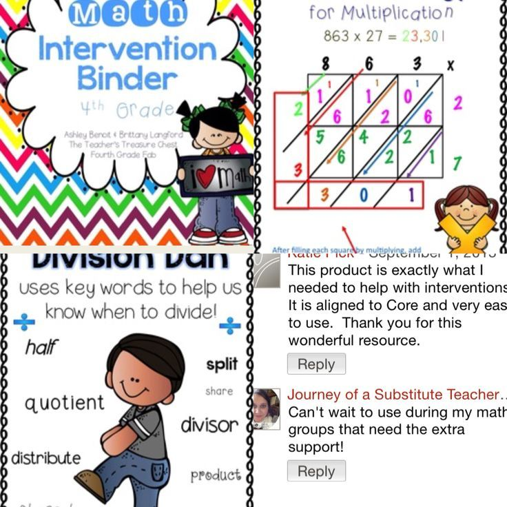 Math Intervention Binder Math Intervention Binder And