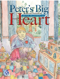 Peter's Big Heart Ten-year-old boy has a congenital heart defect - a hole in his heart - and must have surgery to correct. Until then he can only watch his driends play, not join in.