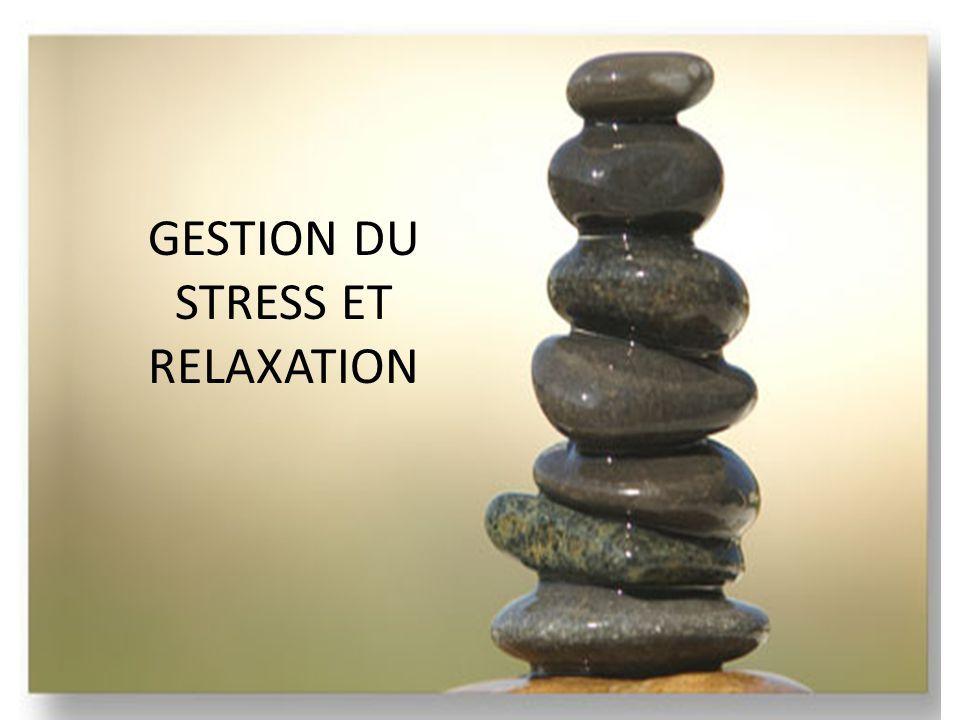 Gestion du stress et relaxation : diapo