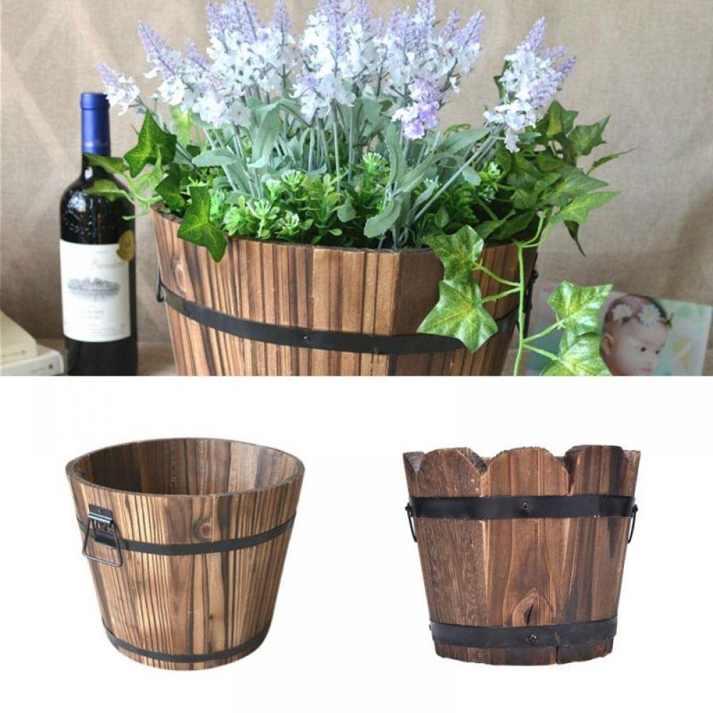 Retro Small Wood Flower Pot Price Usd 9 95 Free Shipping Reusableshoppingbags Reusablebottles Mass Vertical Garden Pots Flower Pots Outdoor Flower Pots