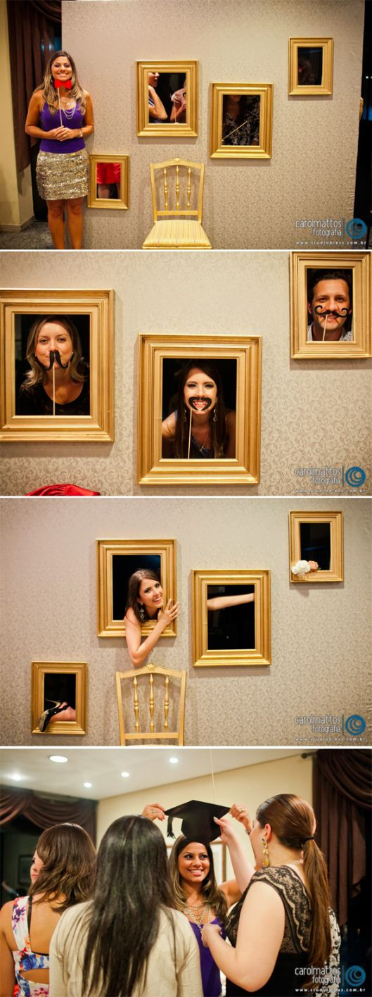 #photobooth with picture frames!