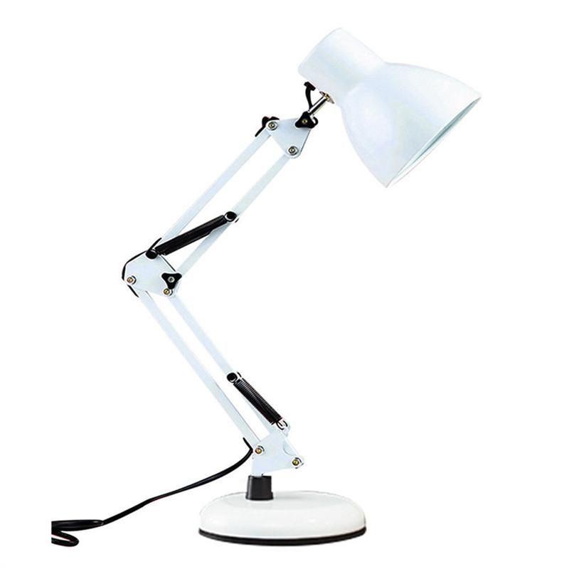 Eye Protection Folding Led Desk Lamp Swing Arm Desk Lamp Metal Lampshade Nordic Design Table Lamp Reading Light Beside Lamp Desk Lamp Led Desk Lamp Table Lamp