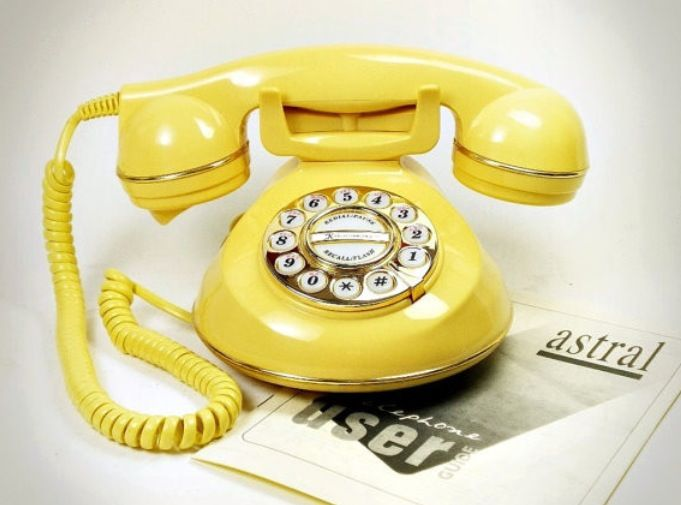 6. Hang up the phone. Now, I don't mean hang up on clients or potential  clients. Instead, just try not … | Modern home electronics, Vintage phones,  Work space decor