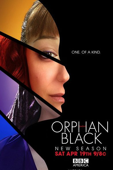"""Very cool fan manip of the Orphan Black posters. Make your own """"One. Of a kind"""" poster HERE."""