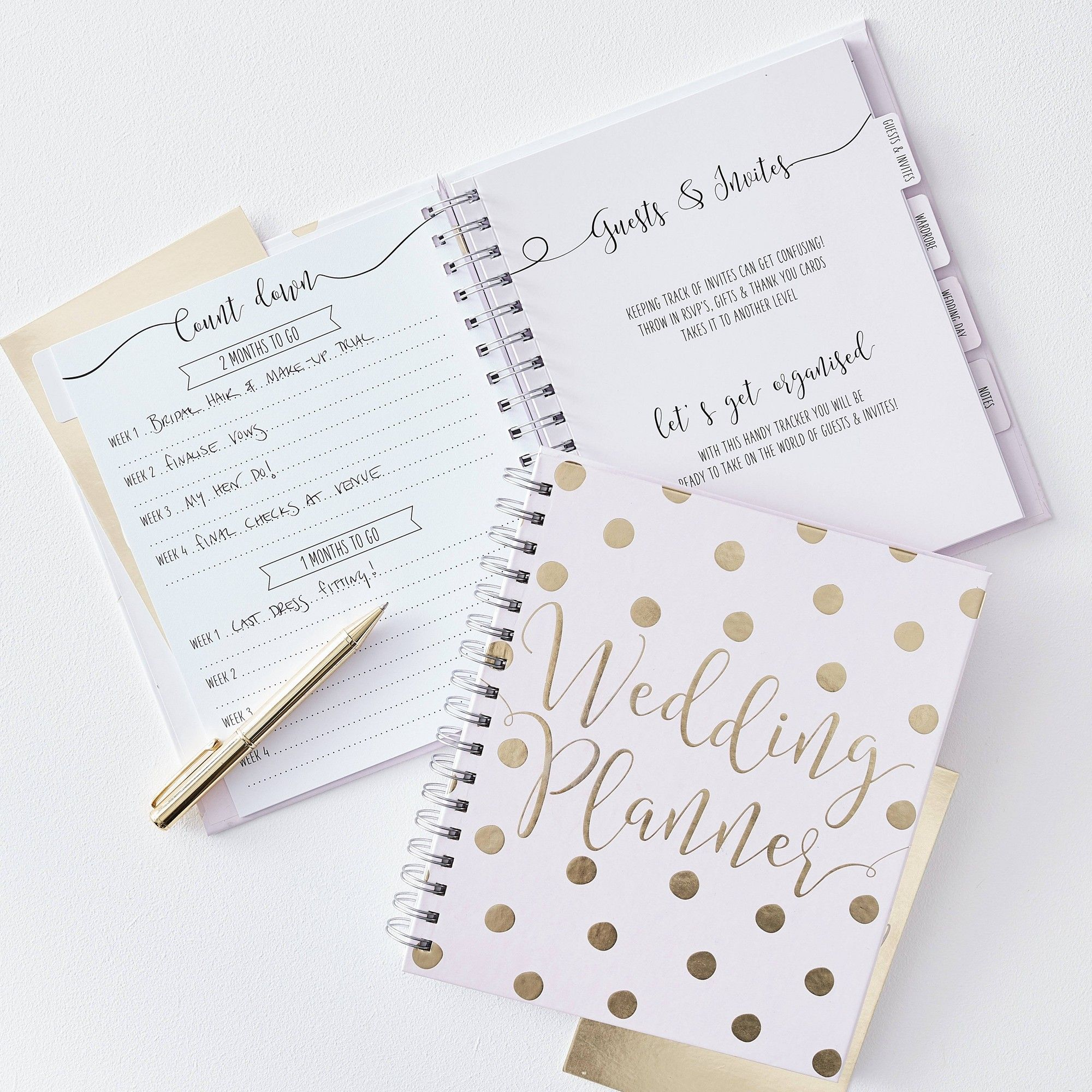 Wedding Planner Notebook Wedding Planner Notebook Wedding Planner Book Diy Wedding Planner